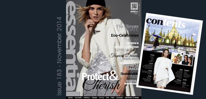 November 2014 – Protect & Cherish!