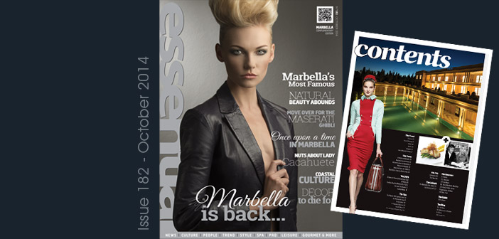 October 2014 – Marbella is Back!