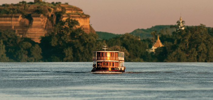 River Cruising Burma