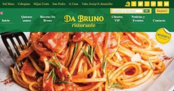 Da Bruno Website